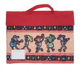 "Library Bag ""Band of Bones"""